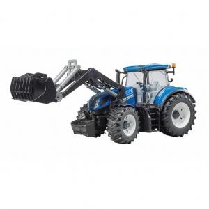 New Holland T7.315 tractor met voorlader (03121) Bruder
