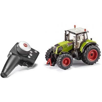 Siku 6882, Claas Axion 850 Tractor, op afstand bestuurbaar, 1:32, inclusief Controller, metaal/kunststof, groen, werkt op batterijen, compatibel met onderdelen