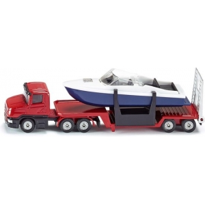 SIKU 1613 Dieplader met Boot