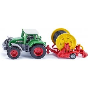 SIKU 1677 Tractor met Beregeningshaspel