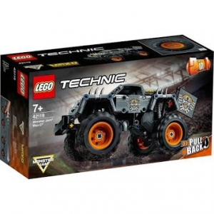 LEGO 42119 Technic Monster Jam Max-D Vrachtwagen Speelgoed, Quad Bike Pull Back Motor 2 in 1 Bouwset