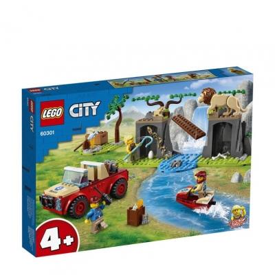 LEGO City wildlife recsue off-roader 60301