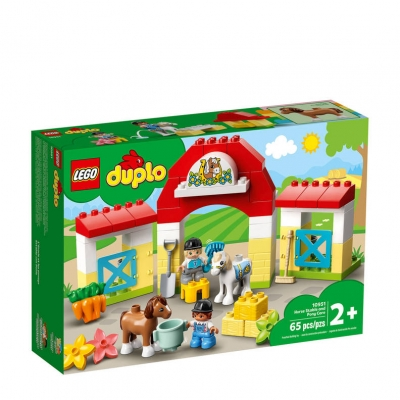 LEGO Duplo paardenstal en pony's verzorgen 10951