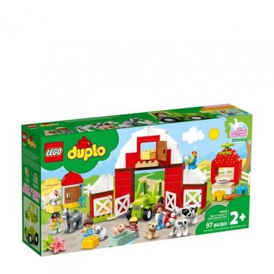 LEGO Duplo schuur en tractor boederijdieren verzorgen 10952