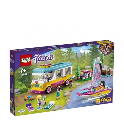 LEGO Friends boscamper en zeilboot 41681