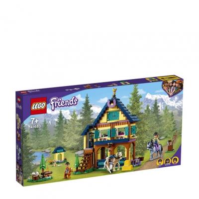 LEGO Friends paardrijdbasis in het bos 41683