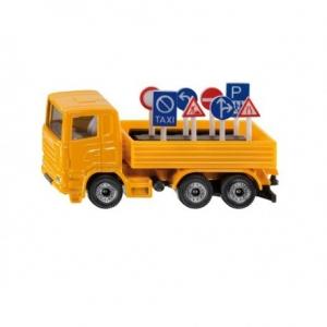 Vrachtwagen + Verkeers borden - Siku 1322