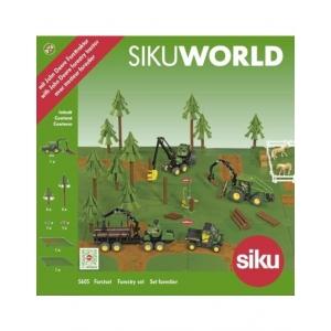 SIKU 5605 - SIKUWORLD - BOSBOUW SET 1:50